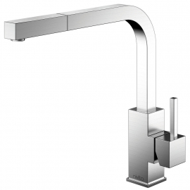 Nivito stainless steel kitchen faucet SP-300