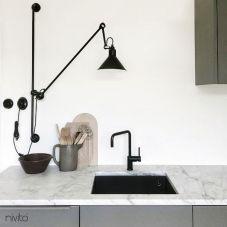 Kitchen faucet black