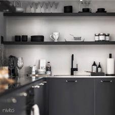 Black design faucet