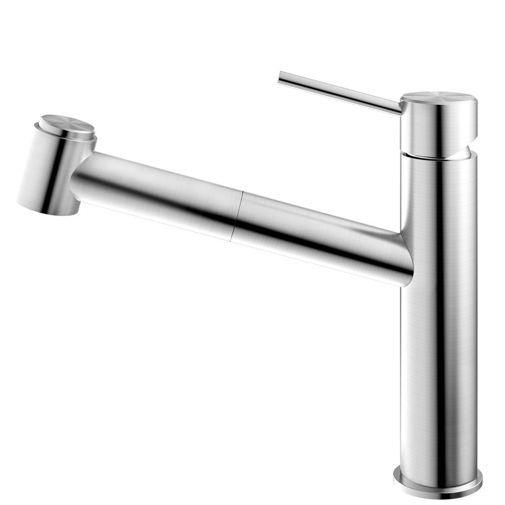 Stainless Steel Kitchen Faucet Pullout hose - Nivito EX-800