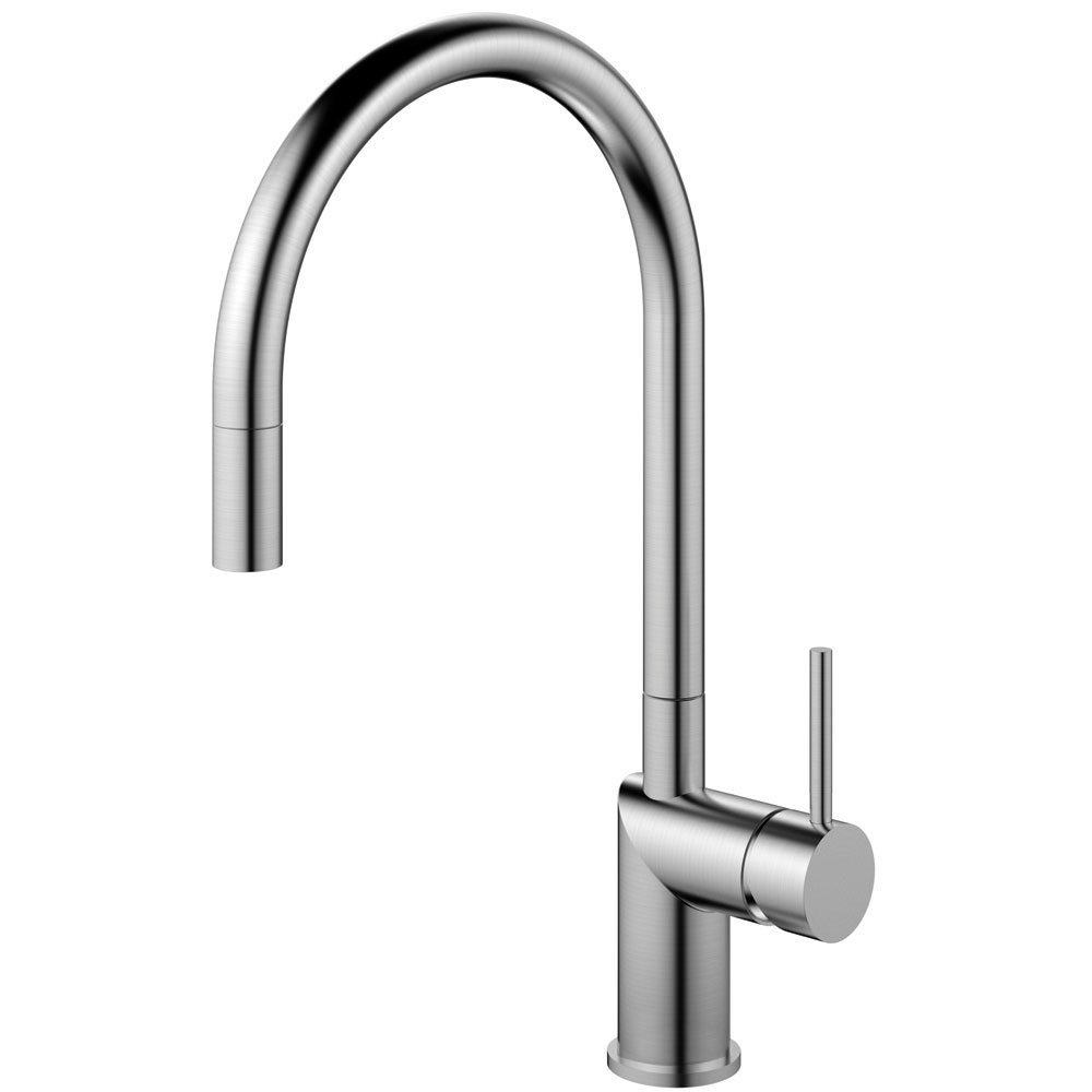 Stainless Steel Kitchen Faucet - Nivito RH-100-EX Series