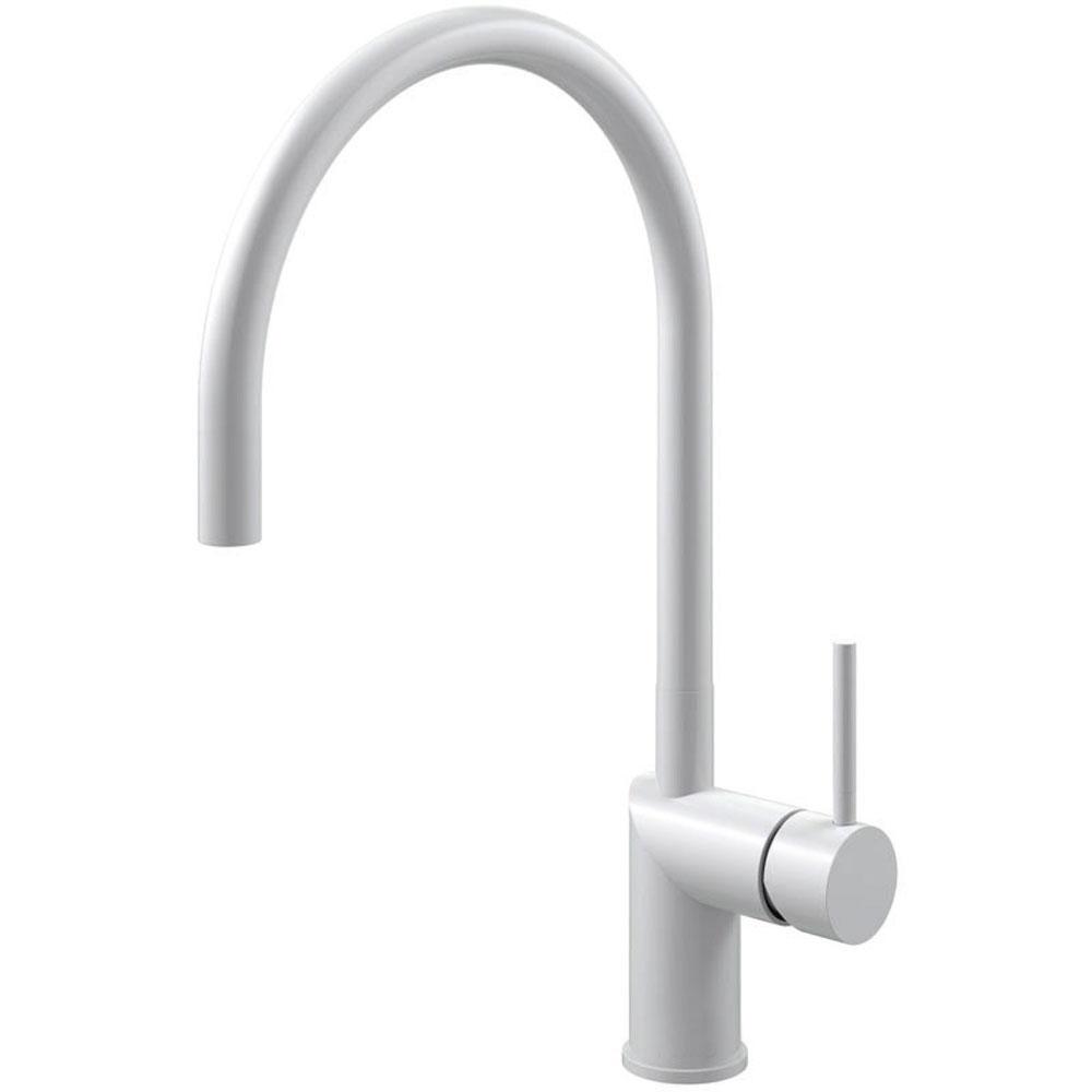 White Kitchen Faucet - Nivito RH-130