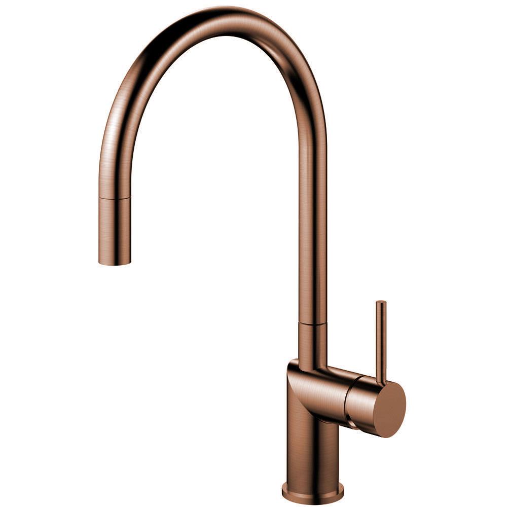 Copper Kitchen Tap Pullout hose - Nivito RH-150-EX