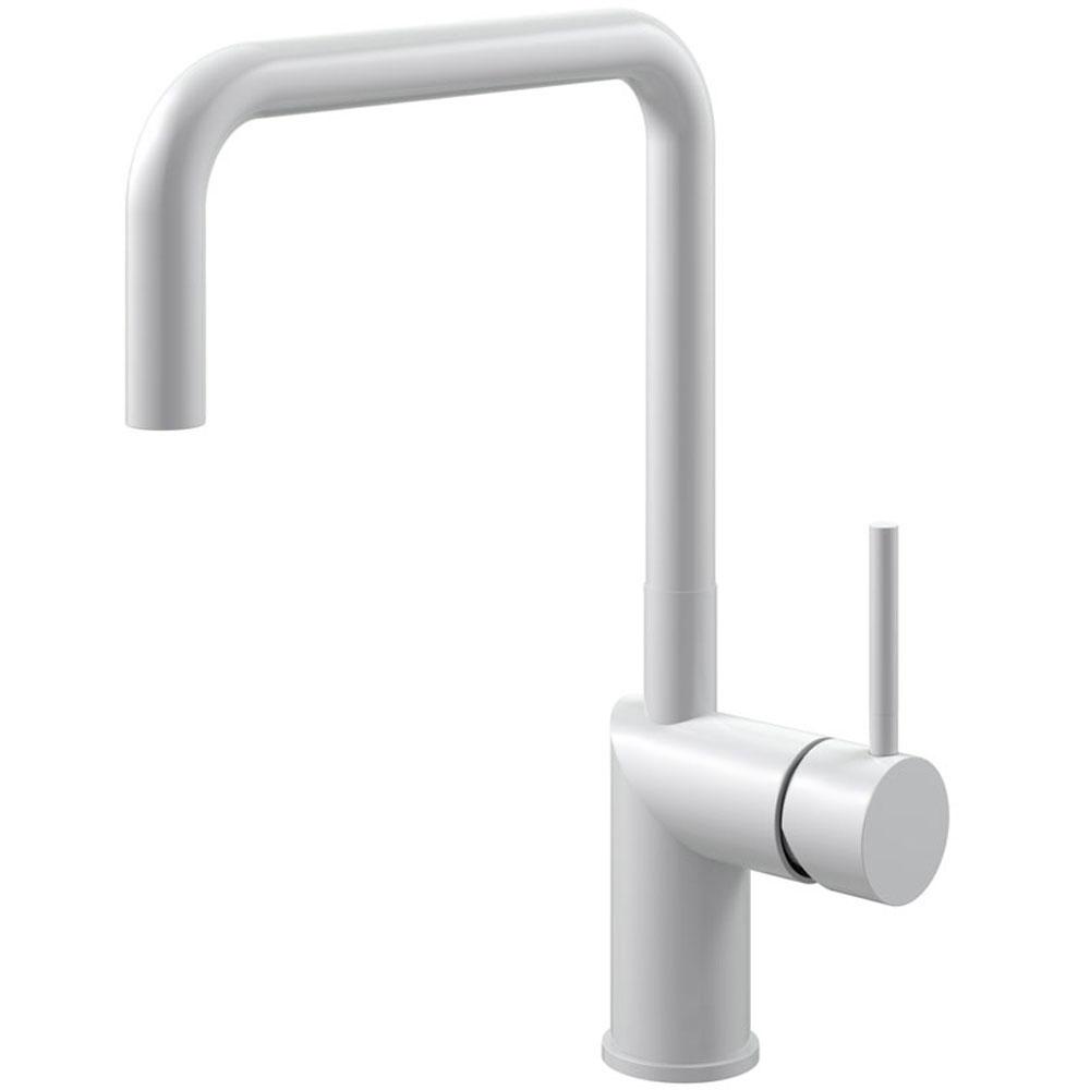 White Kitchen Faucet - Nivito RH-330