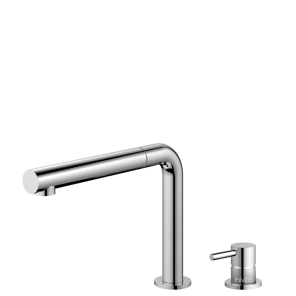 Kitchen Faucet Pullout hose / Seperated Body/Pipe - Nivito RH-610-VI