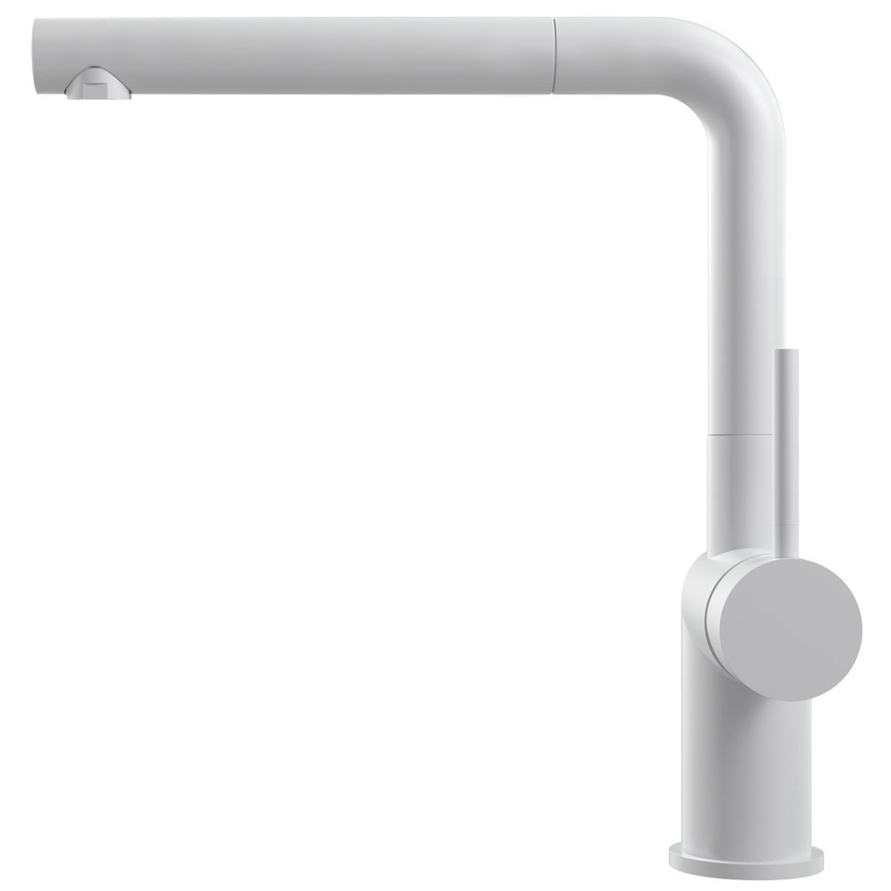 White Faucet Pullout hose - Nivito RH-630-EX