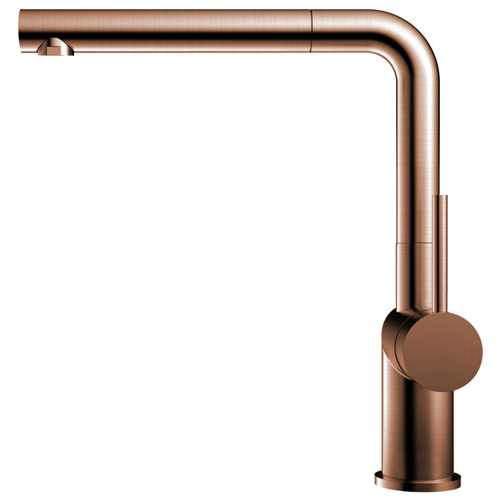 Copper Kitchen Faucet Pullout hose - Nivito RH-650-EX