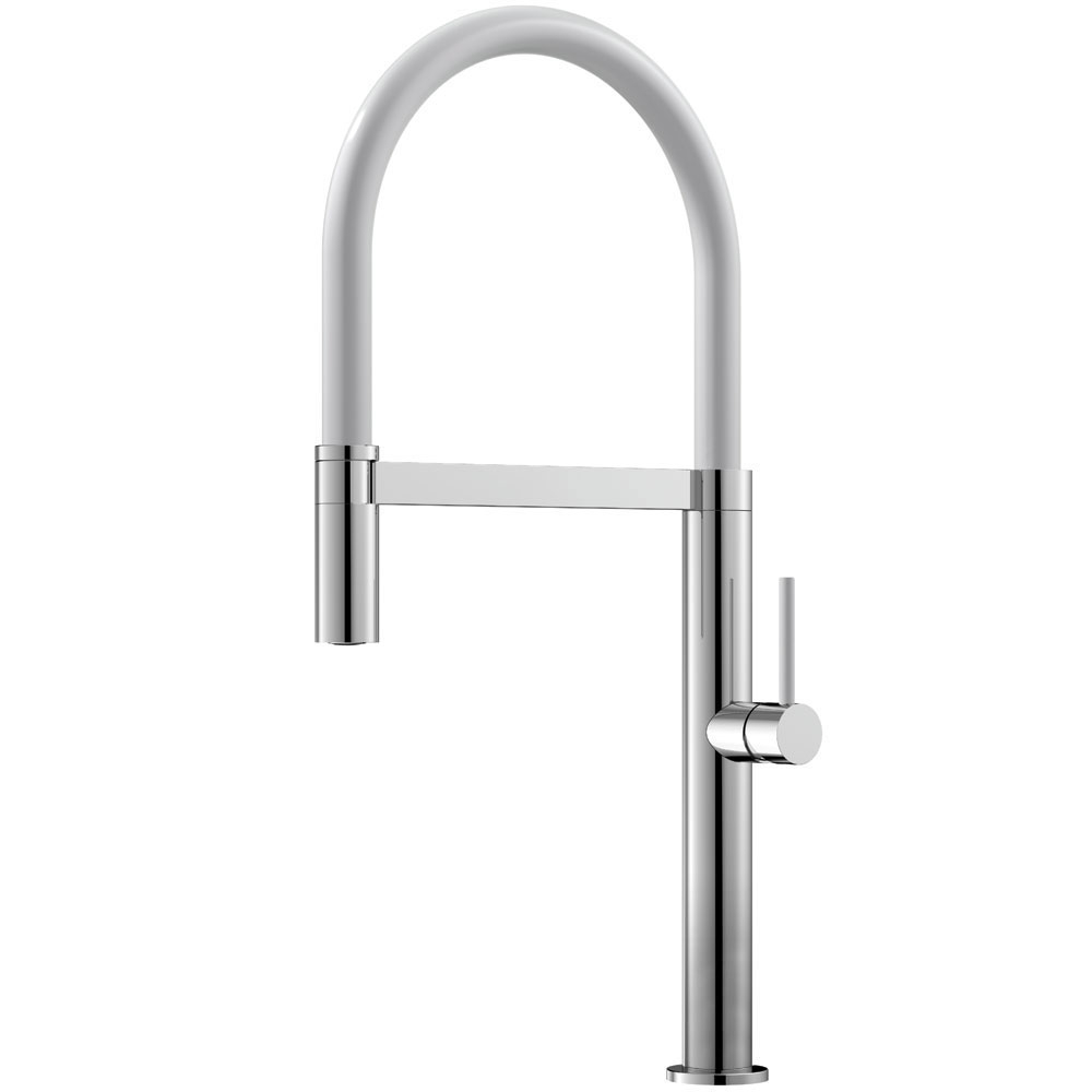 Kitchen Faucet Pullout hose / Polished/White - Nivito SH-310