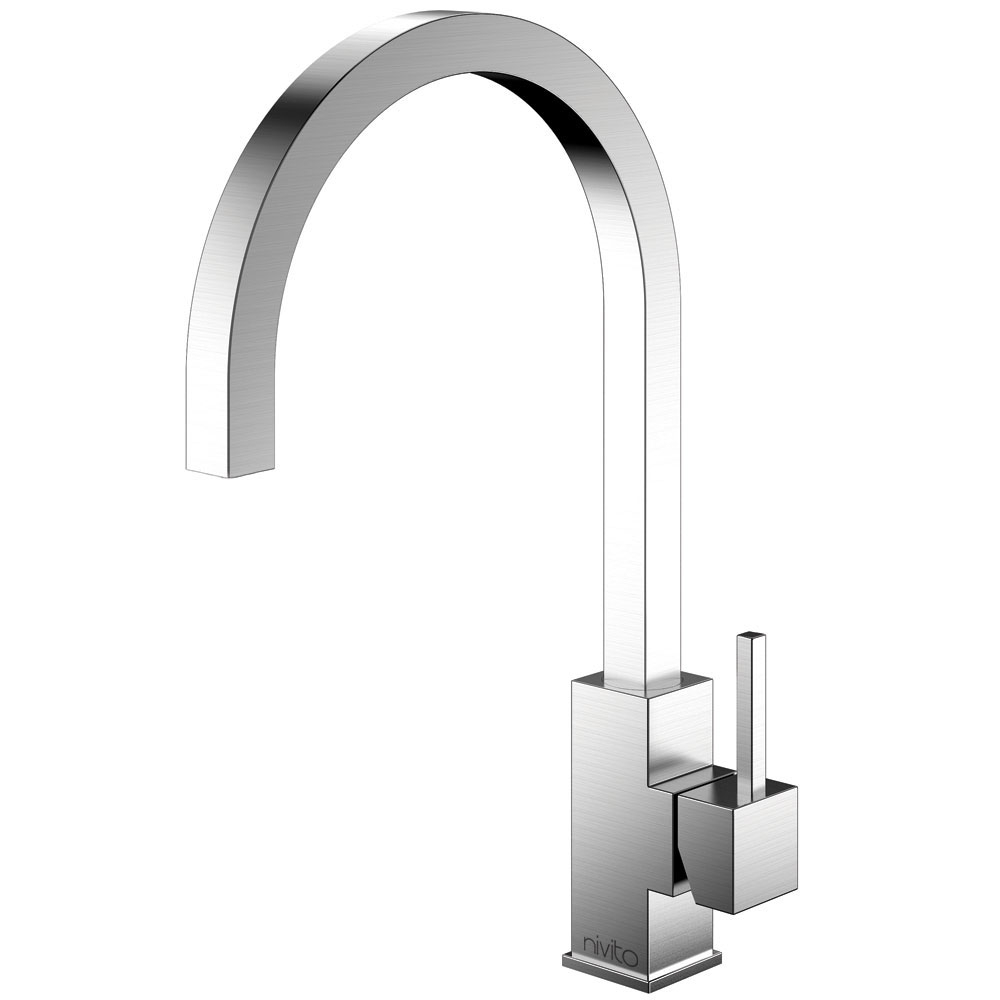 Stainless Steel Kitchen Faucet - Nivito SP-100