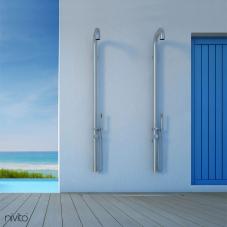Wall mounted indoor shower outdoor shower