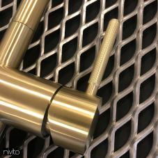 Brass/Gold Kitchen Faucet - Nivito 2-RH-340-IN