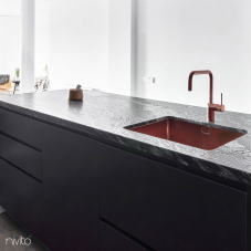 Copper Kitchen Faucet - Nivito 2-RH-350