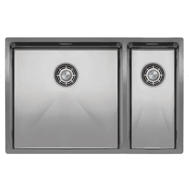 Stainless Steel Kitchen Sink - Nivito CU-500-180-B