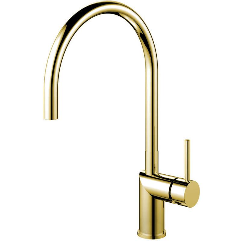 Brass/Gold Kitchen Faucet - Nivito RH-160