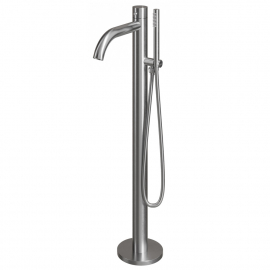 Stainless Steel Stand Alone Bathtub Tap - Nivito CR-10