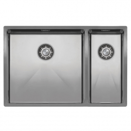 Stainless Steel Kitchen Sink - Nivito CU-500-180-B