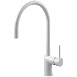 White Kitchen Tap - Nivito RH-130